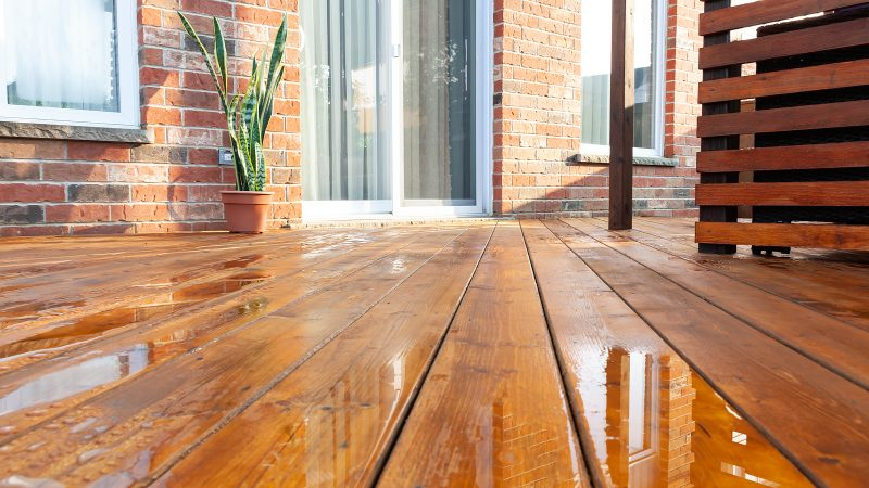 Timber Deck Floor Boards